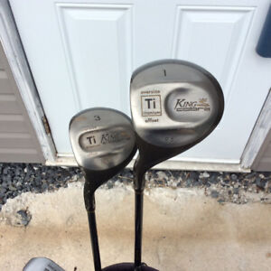 Left hand golf clubs  2 Cobra driver s