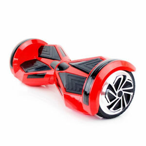 Smart Balance wheel Bluetooth Hoverboard Red With LED Light