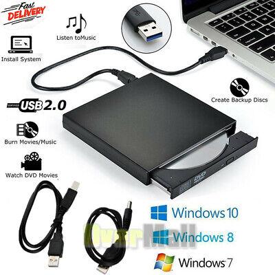 USB 2.0 External DVD-R CD±RW Combo Burner Drive DVD ROM for PC Laptop Dell HP