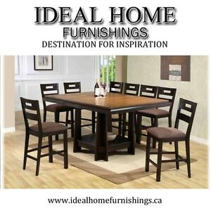 Brand New Counter Height Dining Table w/6 Chairs - $1299.99