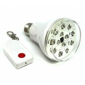 Bombilla led lampara con mando a distancia luz ebay for Bombillas led con mando a distancia