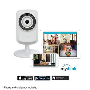 D-Link Wireless N Day/Night Home Network Cloud Camera + Audio