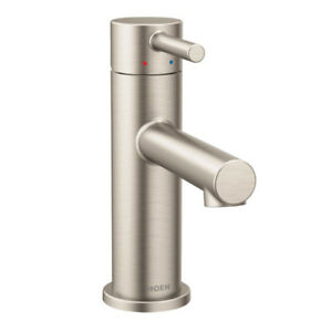 Moen 6190BN Align One-Handle High Arc Bathroom Faucet, Brushed N
