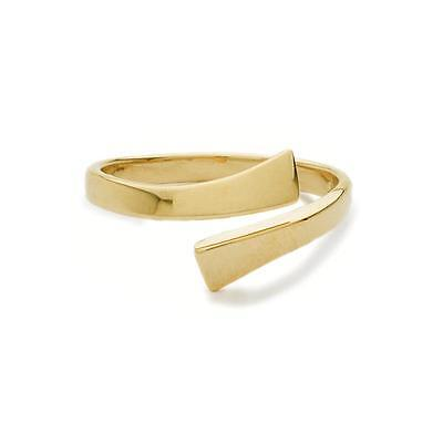 14KT Solid Yellow Gold Adjustable Toe Ring