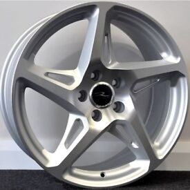 "19"" River R4 wheels to fit most A3 MK2, Seat Leon MK2, MK3, VW Golf MK5, MK6, MK7, Jetta Passat etc"