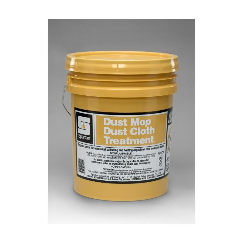 Spartan Dust Mop/Cloth Treatment, 5 gal pail