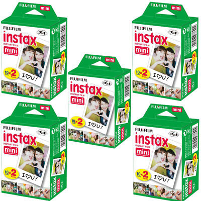 100 Sheets Fujifilm Instax Mini Instant Film Mini 90 8 25 7S Instant Camera SP-1