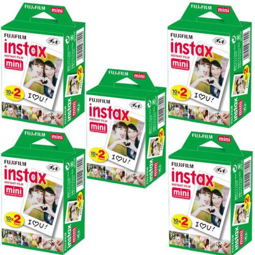 100 Sheets Fujifilm Instax Mini Instant Film Mini 90 8 25 7S