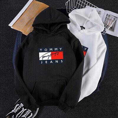 Tommy Hilfiger Kapuzenpullover Herren Hoodie Kapuzensweatshirt Pullover Jacke DE