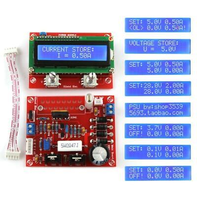 0-28v 0.01-2a Adjustable Dc Regulated Power Supply Diy Kit With Lcd Display W