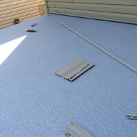 Vinyl Deck flooring system for deck and balconies Please leave y
