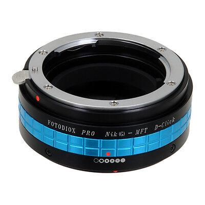 Fotodiox Pro Lens Adapter Nikon Nikkor F-Mount G-Type Lens to Micro Four Thirds