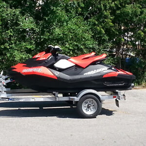 Two 2016 Seadoo Sparks for sale