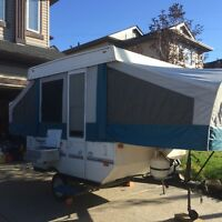 2005 Flagstaff  8 ft Tent Trailer