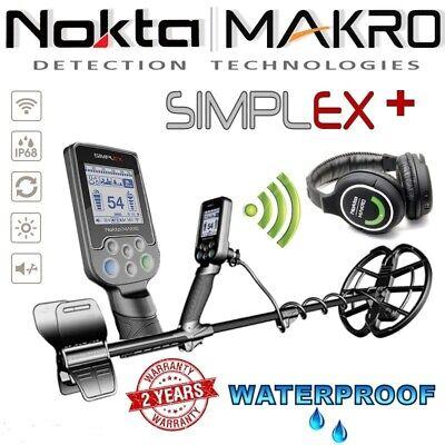 New Nokta / Makro Simplex Metal Detector - DETECNICKS LTD