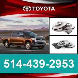 Toyota Tundra • Freins et Disques ► Brakes and Rotors