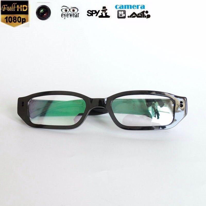 1080P HD mini Camera Personal Digital Video DVR Black Glasses Eyewear