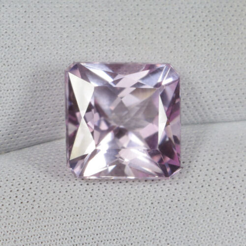 """7.20Cts Best Color """"Baby Pink"""" Unheated Natural Kunzite Princess..!!!!"""