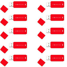 10 Pack of MyMemory 8GB USB 2.0 Flash Drive Memory Stick