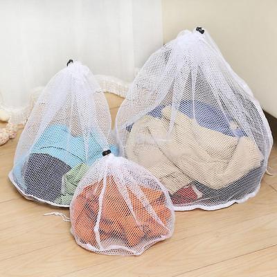 Underwear Aid Bra Laundry Bag Mesh Wash Basket Net Washing Storage Zipper Bag CA