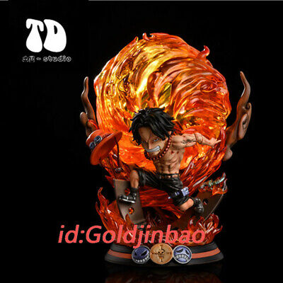 TD Studio One Piece Portgas D Ace Resin Model In Stock In