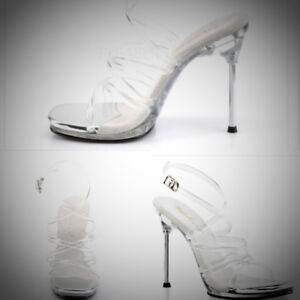Clear heels/Competition Shoes