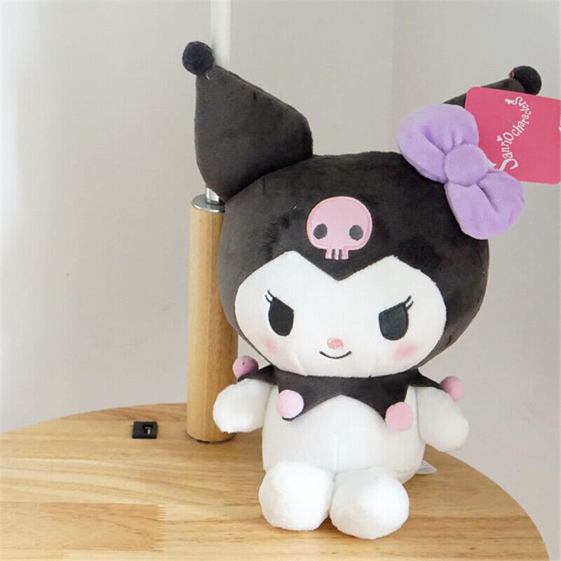 Cute Kuromi Plush Doll Stuffed Toy Figure Kid