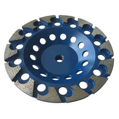 7 C-seg Grinding Wheels For Concrete Epoxy Angle Grinder 58-11 Arbor