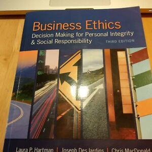 Business Ethics Text ETHC 3P82