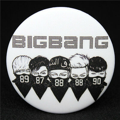 Fashion KPOP BigBang Collective Badge Brooch Chest Pin Souvenir Gift