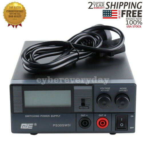 PS30SWIV Radio Transceiver Base Station Switching Power Supply 30A 13.8V USA