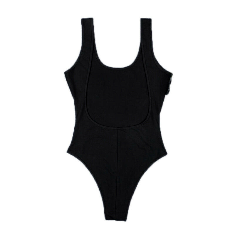 Women Playsuit Leotard Sleeveless Slim Jumpsuit Bodysuit Backless Bodycon Romper Clothing, Shoes & Accessories