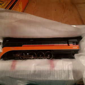 Lionel Style - MTH O Scale Southern Pacific Engine set + 6 cars