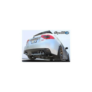 GReddy Supreme SP Exhaust Subaru Impreza 08-12 - WRX STIHatch