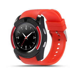 New round grade A Bluetooth smart watch phone with camera