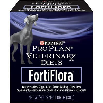 FORTIFLORA Canine/dog Purina Nutritional Probiotic Supplement 30 sachets
