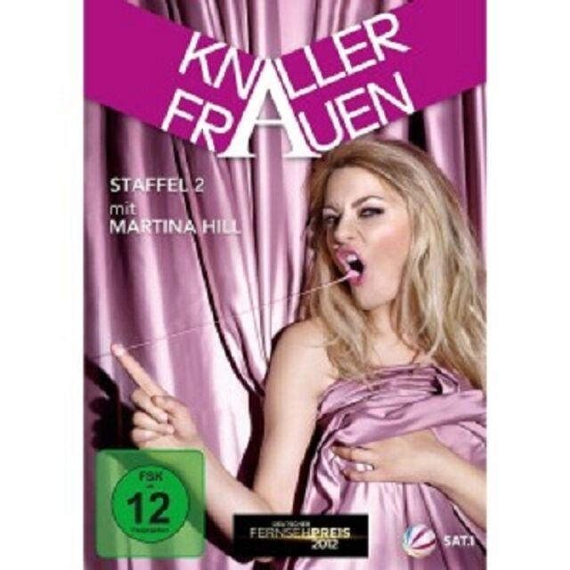 MARTINA HILL - KNALLERFRAUEN-STAFFEL 2 (2 DVD)  COMEDY  NEU