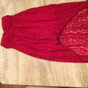 Brand new red small dress