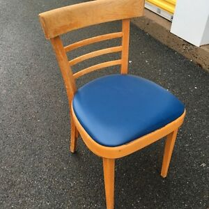 1 Blue & Wood Chair for SALe