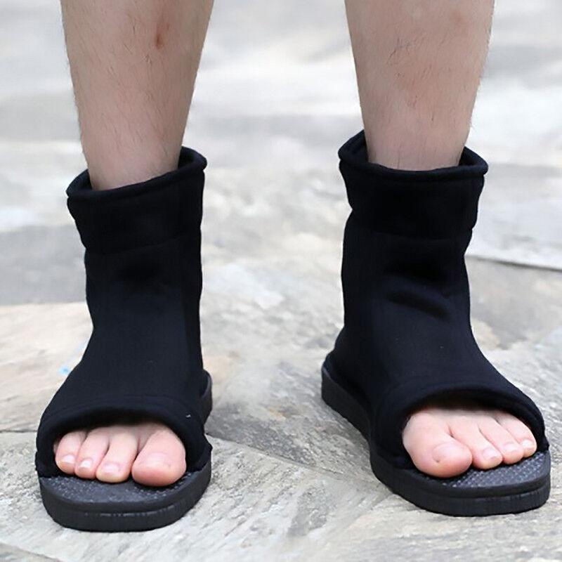 Pair Cosplay Naruto Ninja Shoes Sasuke Kakashi Halloween Boots 43 or other sizes
