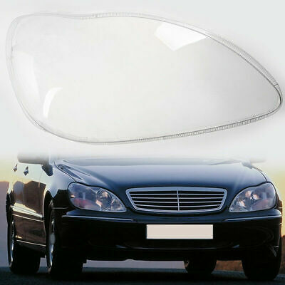 Car Headlight Lens Case Cover Replacement For Mercedes Benz S-Klasse W220 (Mercedes Benz Headlight Lens)