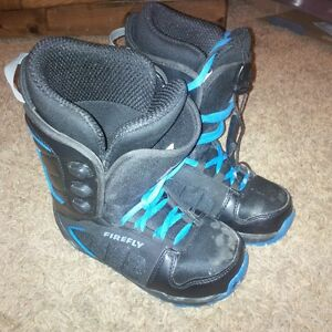 Snowboard Boots, Firefly Size 3