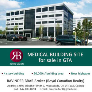 Medical Building Site For Sale in GTA!!!
