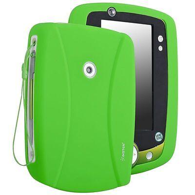 Green Rubber Skin Case Cover For Leap Frog LeapPad 2 Explorer