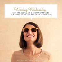 50% OFF WAXING SERVICES || DERMAENVY || HALIFAX