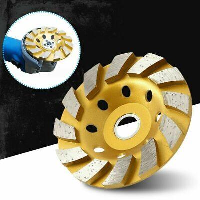 New 4 Inch Diamond Segment Grinding Wheel Disc Concrete Stone Polishing Wheel
