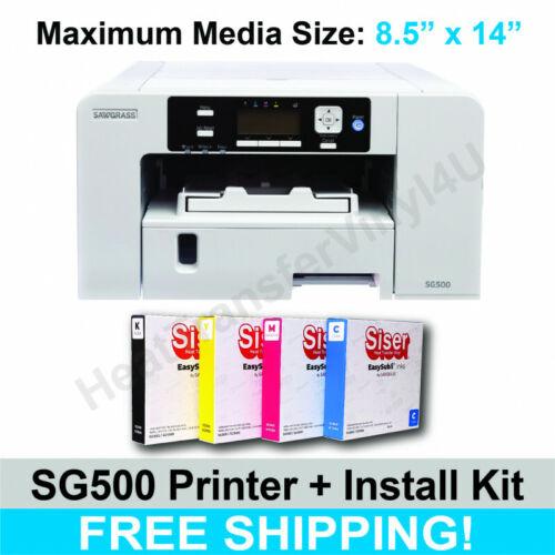 Sawgrass SG500 Printer w/ SISER EasySubli Standard Install Kit **Free Shipping**
