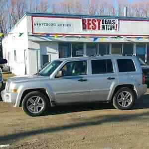 2007 Jeep Patriot Limited AWD, Low Kms, fully loaded