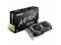 MSI GTX 1070 ARMOR OC 8GB or SWAP