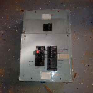 electrical service breaker panel